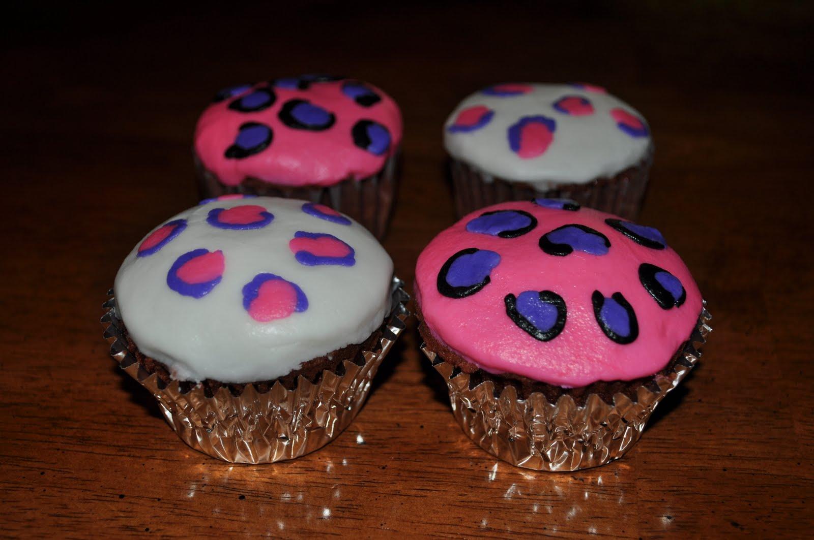cupcakes pinterest leopards - photo #23