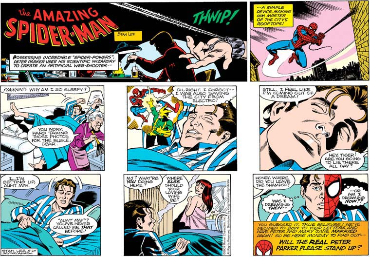 Remarkable Comic book strip not