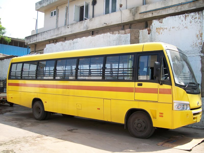 Helpanorphan The Indian School Bus Will Roll Soon