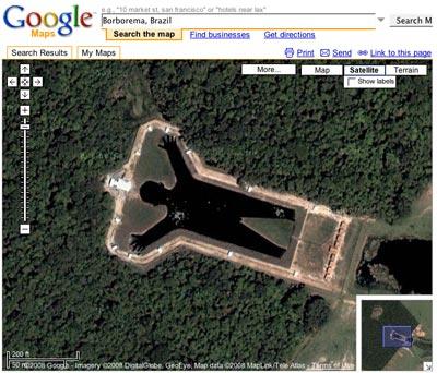 Lustige Google Maps Bilder