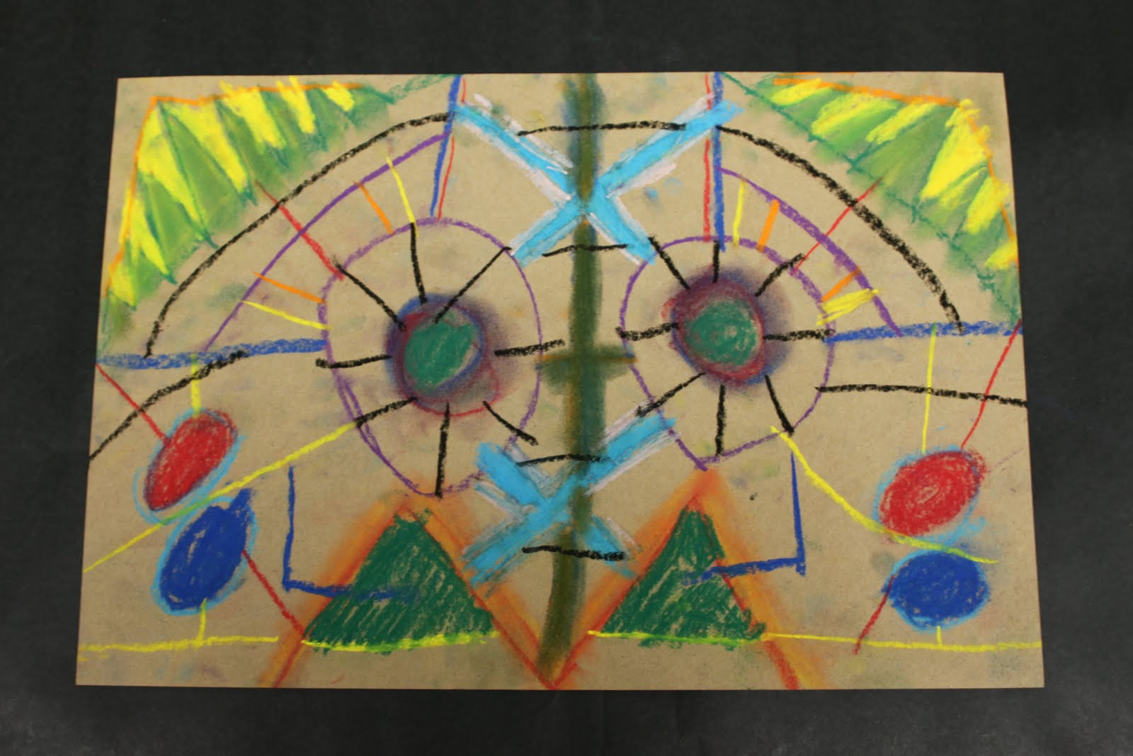 Artists For Kids Fourth Grade Symmetry Drawings
