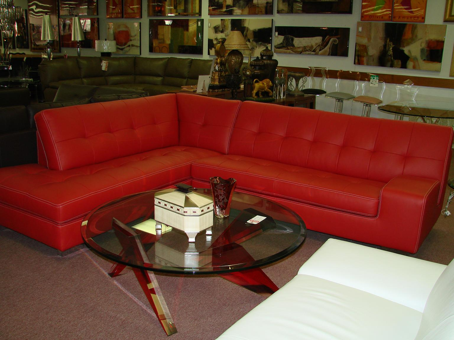 natuzzi red leather sofa and chair bed slat nz sofas sectionals by interior concepts