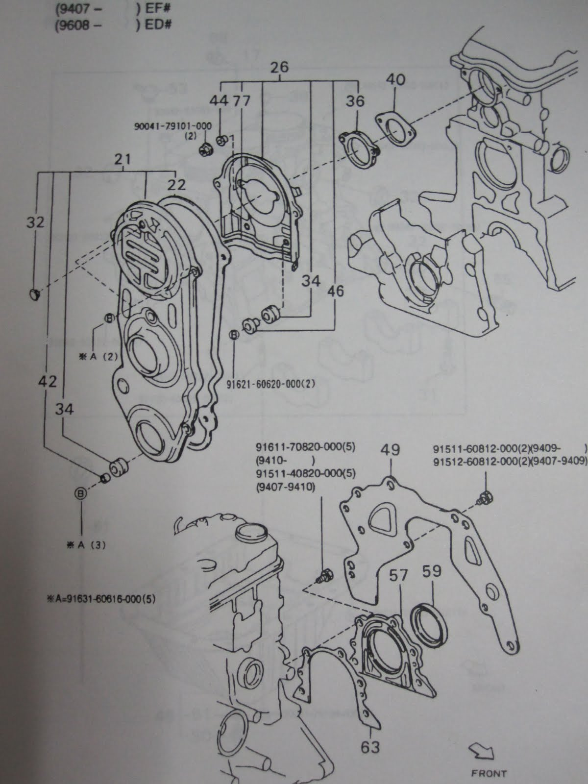 for one example, the upper photo show 2 types of rubber grommet that can be