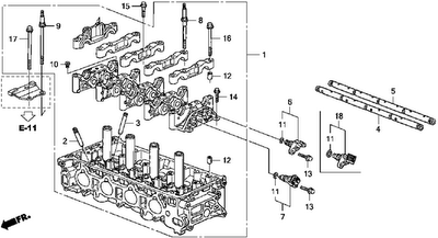 KP Gasket: Cylinder Head Gasket and Bolt