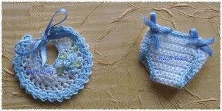 I Piccoli Tesori Mini Pannolino Mini Bavaglino