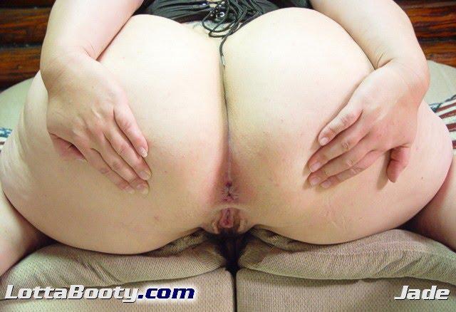 White Girl Booty Naked