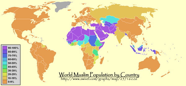 MAPPING GLOBAL POVERTY AND TYRANNY IS MAPPING ISLAM AND