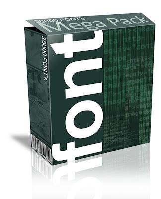 Download 5000 Fonts Mega Pack:All Free Download