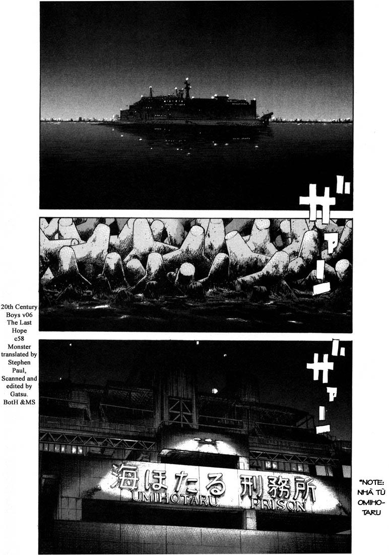 20th Century Boys chapter 58 trang 3