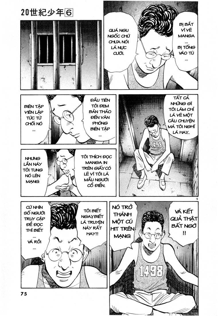 20th Century Boys chapter 58 trang 19