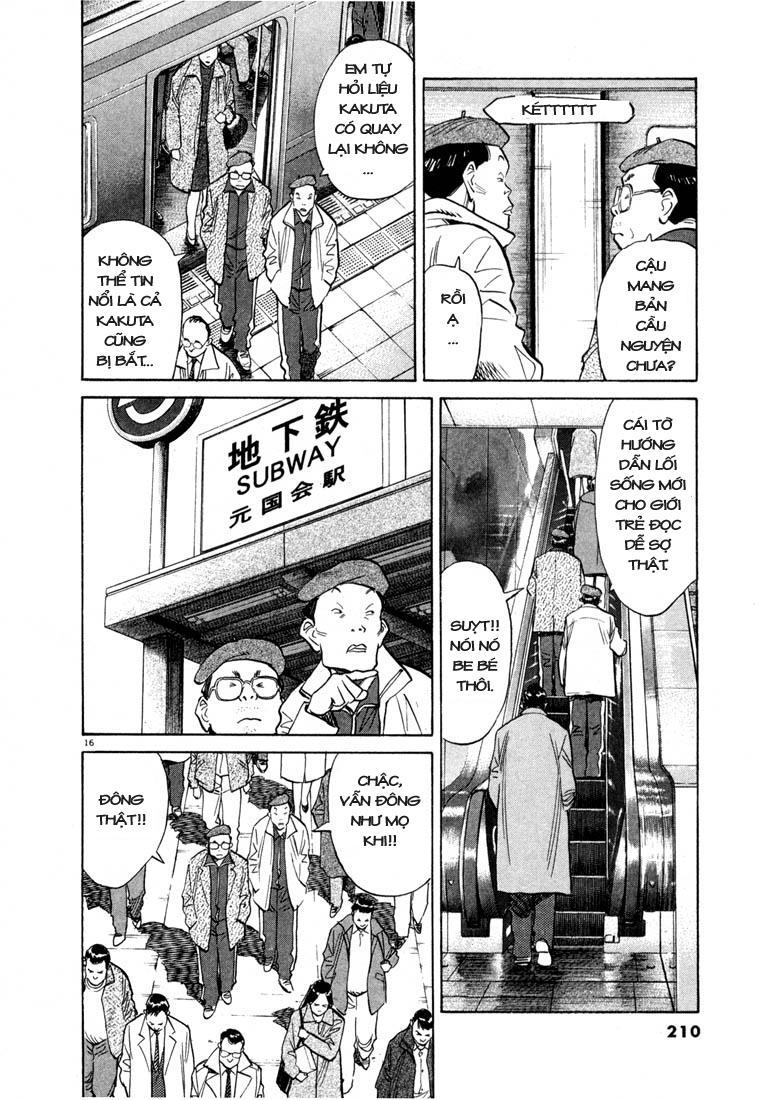 20th Century Boys chapter 54 trang 33