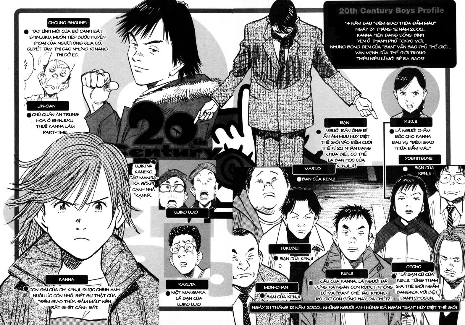 20th Century Boys chapter 55 trang 1
