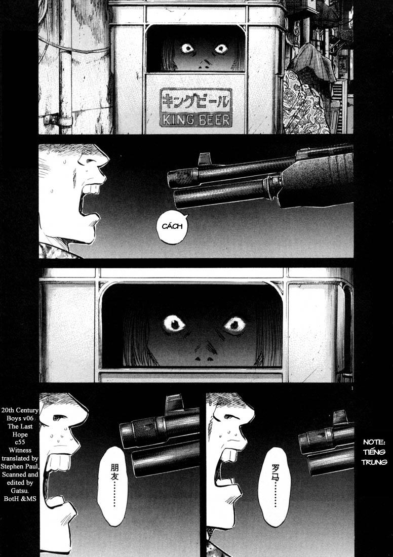 20th Century Boys chapter 55 trang 5