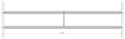 gouffre tarissan solution l gante pour tag re longue port e. Black Bedroom Furniture Sets. Home Design Ideas