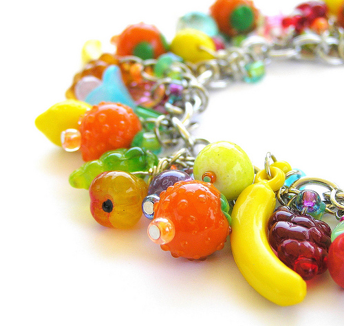 fruit jewelry vintage fruit jewelry for database of 7805
