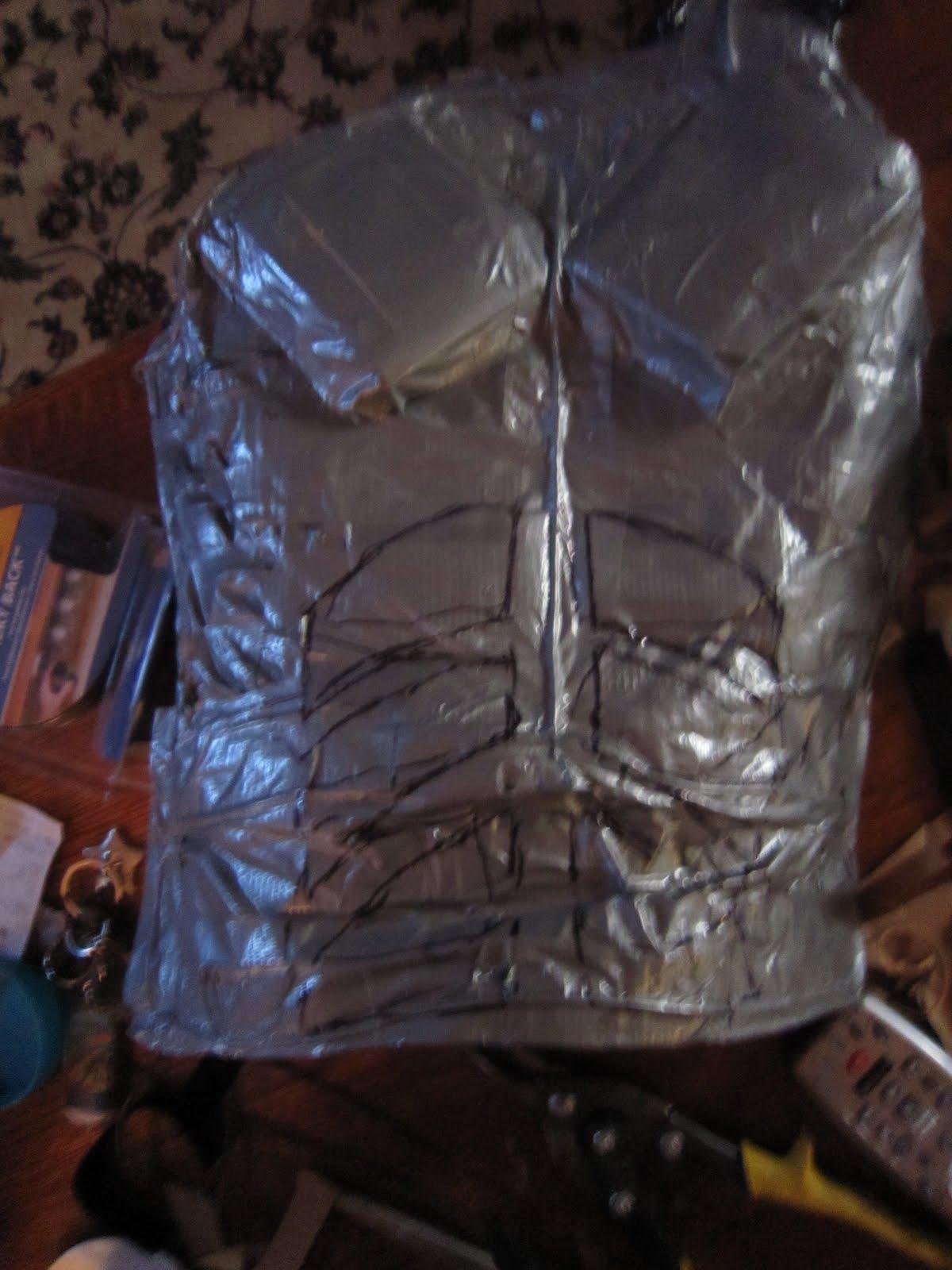 Chuck Does Art Diy Do It Yourself Batman Costume Chest
