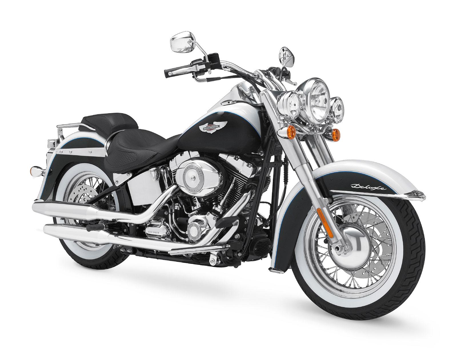 harley davidson custom bikes 2009 Harley-Davidson FLSTN Softail Deluxe