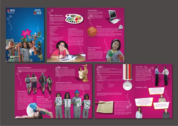 Design Corpuscle School Brochure