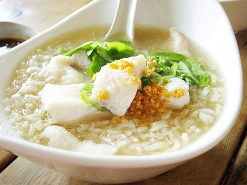 Rice Kingdom Rice Soup With Cod Fish