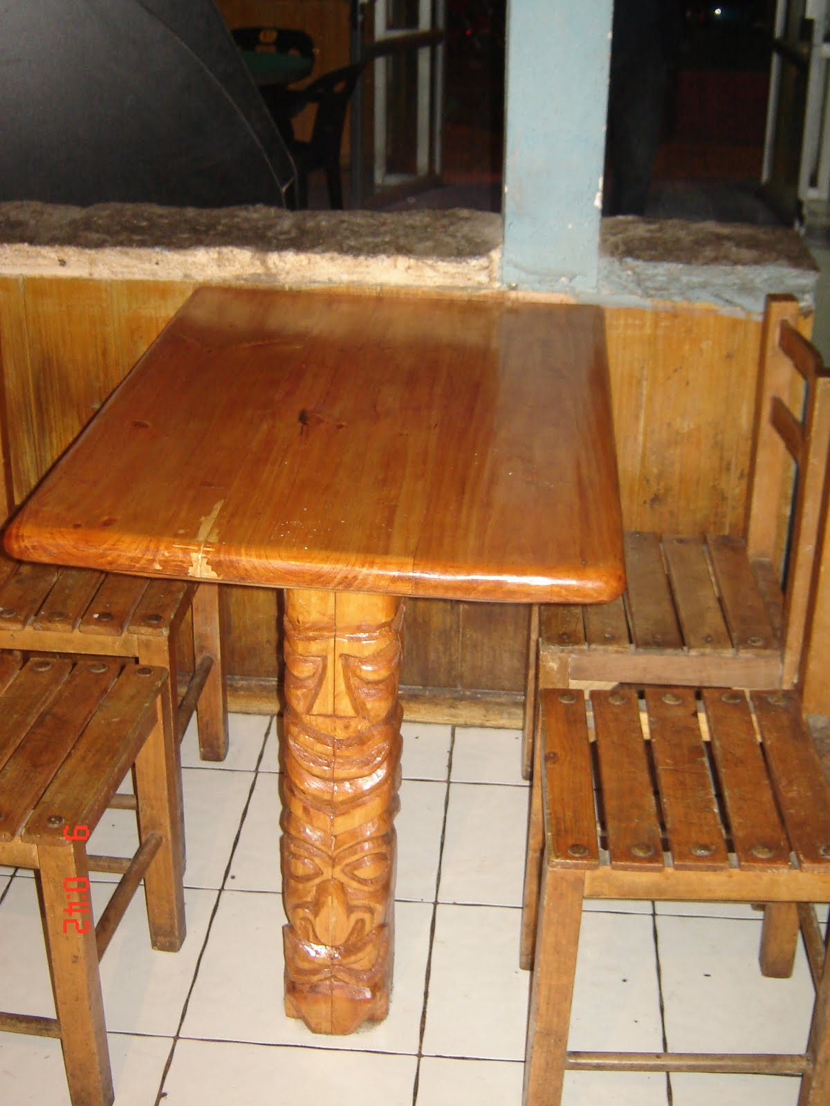 Muebles Rusticos Buin Mesas para bares o restoranes