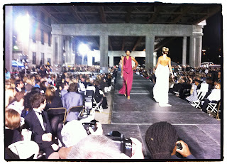 sports shoes 0db3f ab55f What a fabulous show! More links and photos soon, but this was my view for  the finale of Omaha Fashion Week.  )