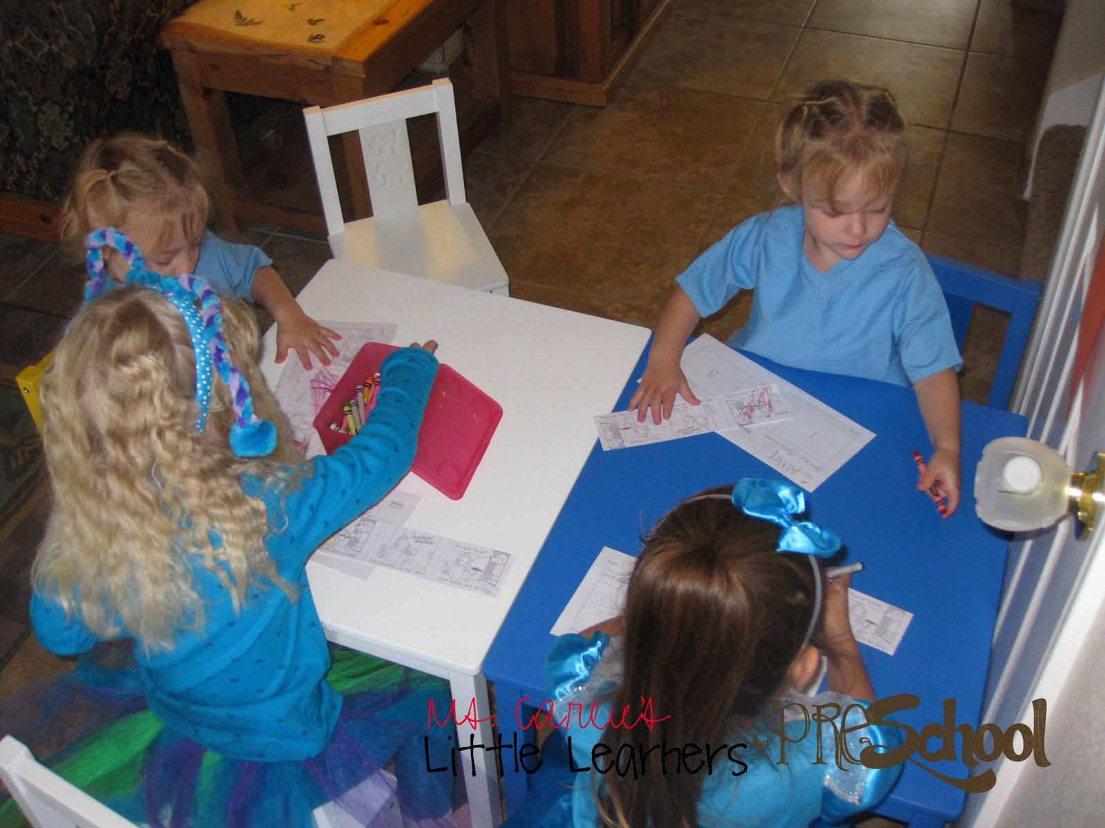 Ms Carlie S Little Learners Preschool October Week Four