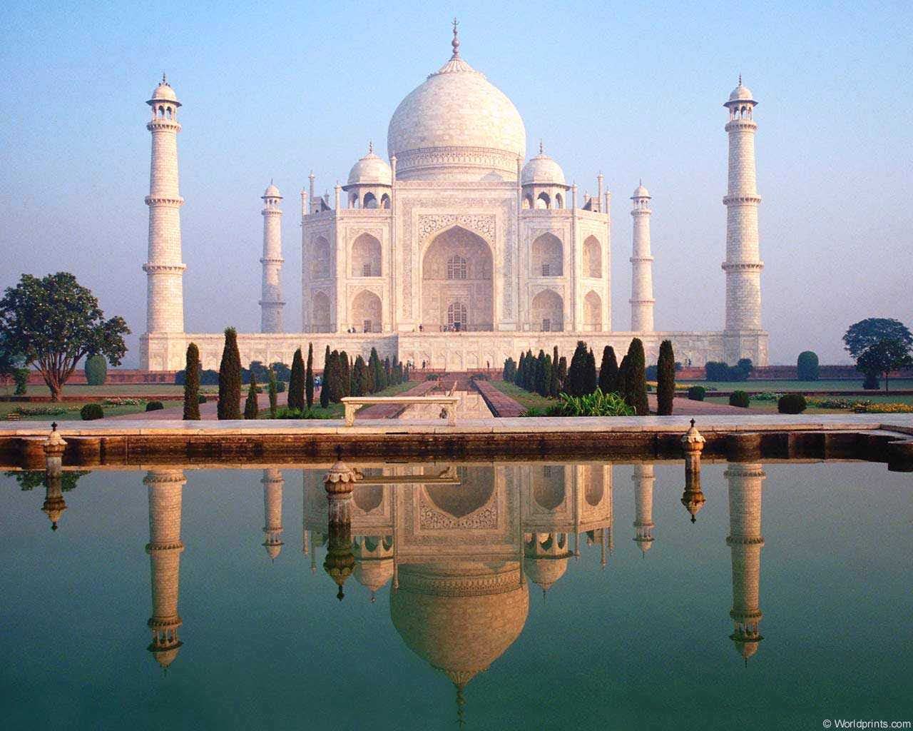 Taj Mahal Pictures Scenic Travel Photos: The 100 Most Beautiful Places In The World