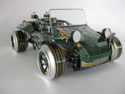 Image result for Tips Membuat Miniatur Mobil dari Kaleng Bekas