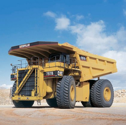 Caterpillar 797b Mining Truck