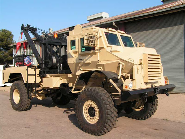 Casspir Gemsbok Recovery Vehicle