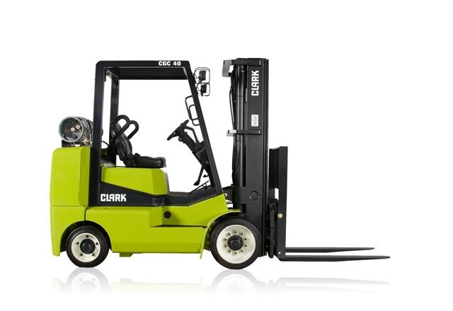 Clark CGC40 5-Tons Forklift