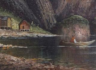 Картина поступила на реставрацию в связи с прорывом холста в двух местах.