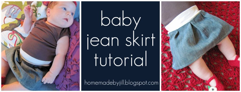 Baby Jean Skirt 117