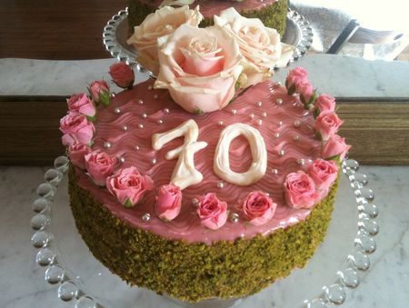Cake Fraises Sophie P Ef Bf Bdpite Chocolat