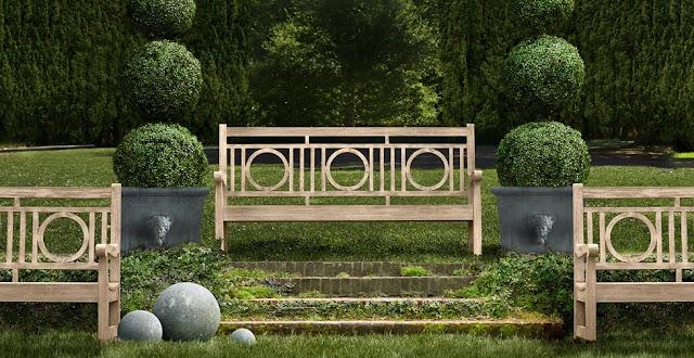 Boiserie c idee d 39 arredo per il giardino for Giardino idee arredi