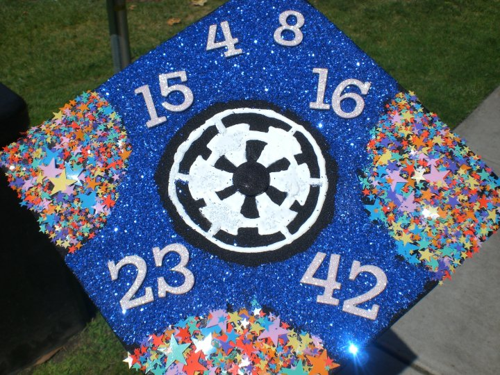 That Was Like A Jedi Moment Decorated Star Wars Lost Mortarboards