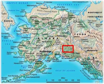map of alaska mountains | Fashion By Michael
