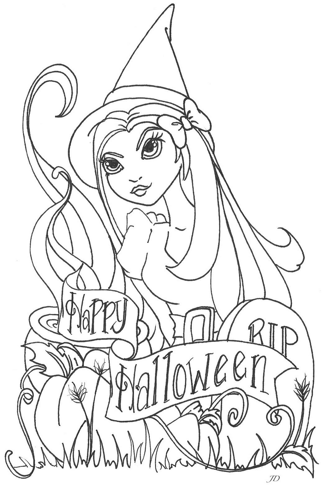 Jamie Dougherty Designs Halloween Digi Stamps