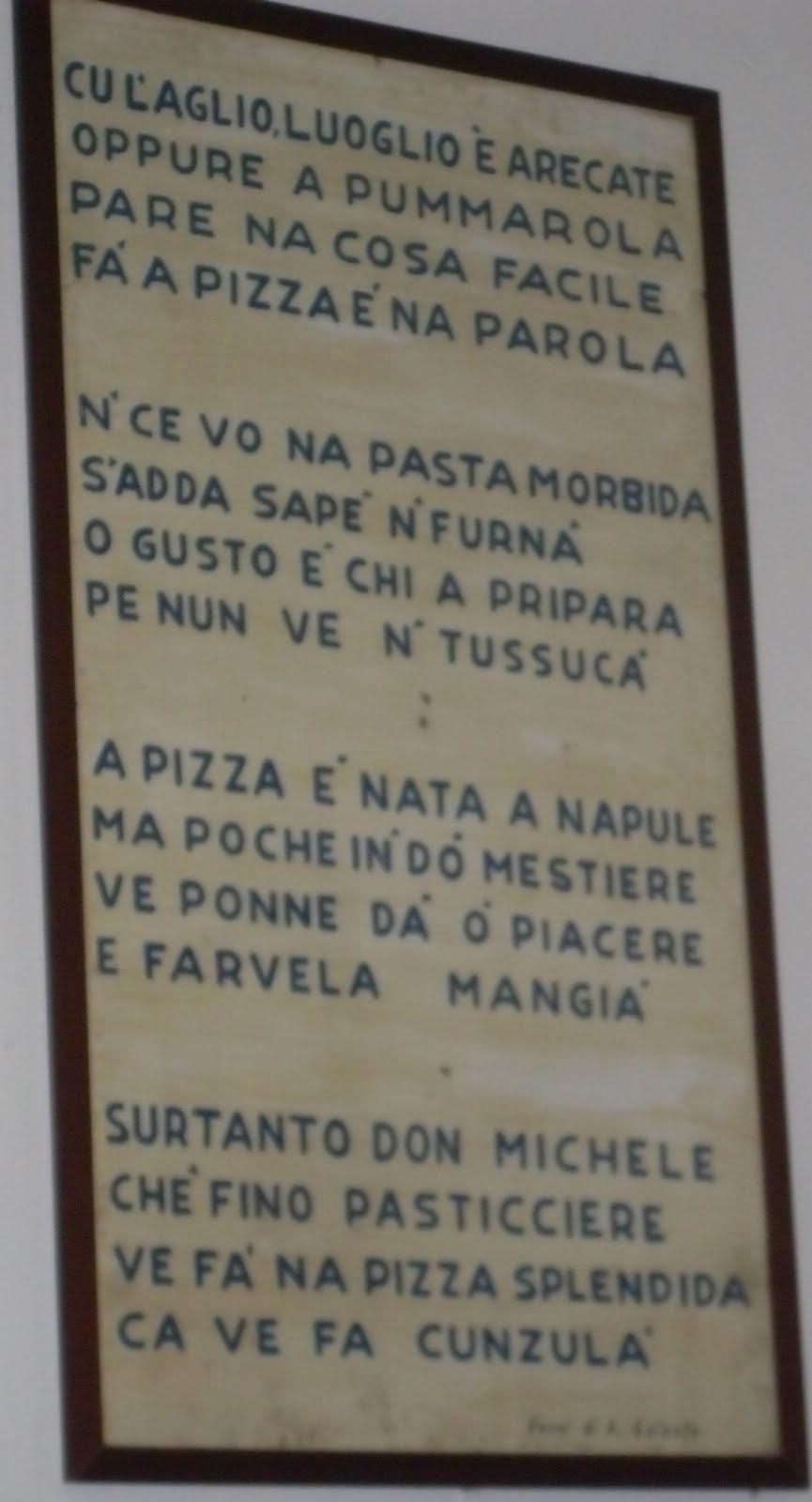 Antica Pizzeria Da Michele Napoli