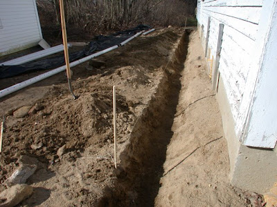 Dover Projects French Drain Design