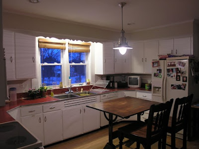 Dover Projects: Recessed Kitchen Lighting Design & Installation on