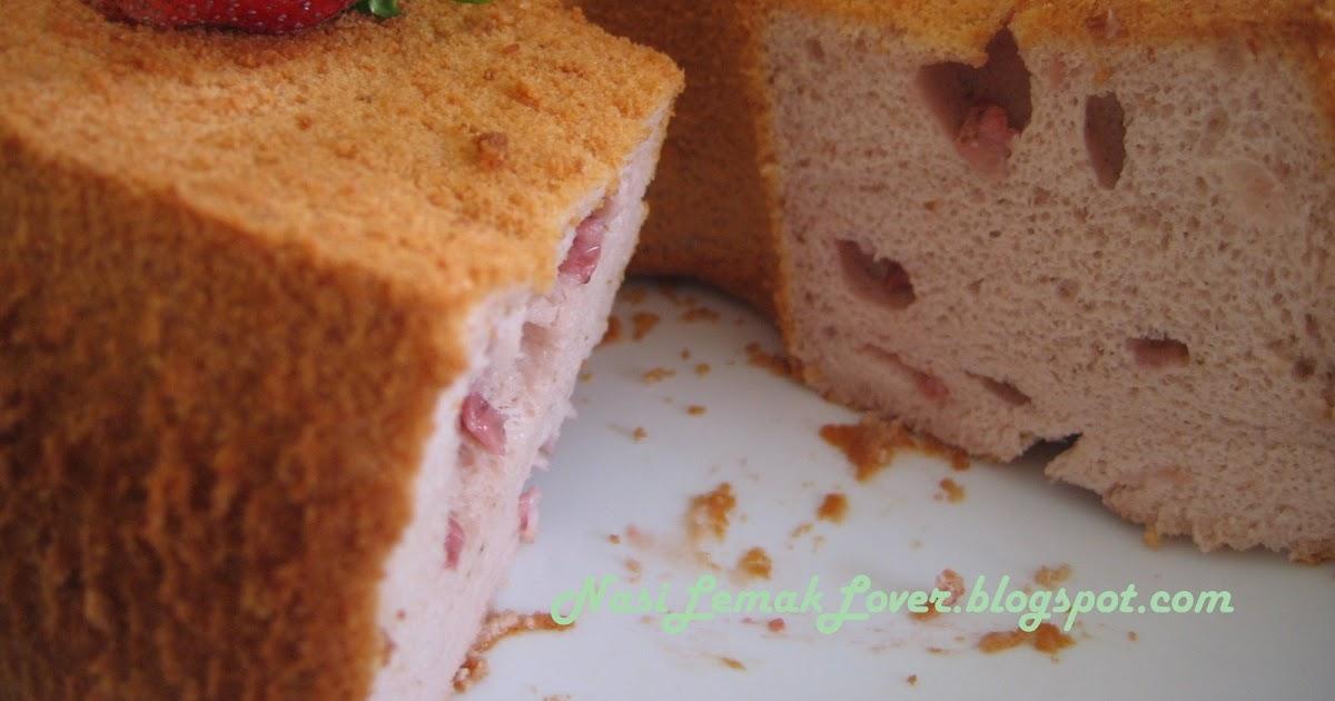Making Chiffon Cake Without Tube Pan