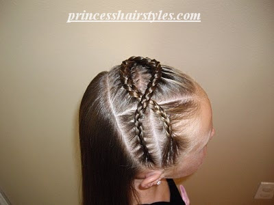 criss cross cornrows
