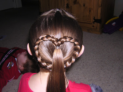 Super Quick Easy Amp Cute Heart Ponytail Hairstyles For Girls Short Hairstyles Gunalazisus