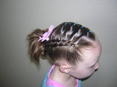 French Braids With Flair Hairstyles For Girls Princess