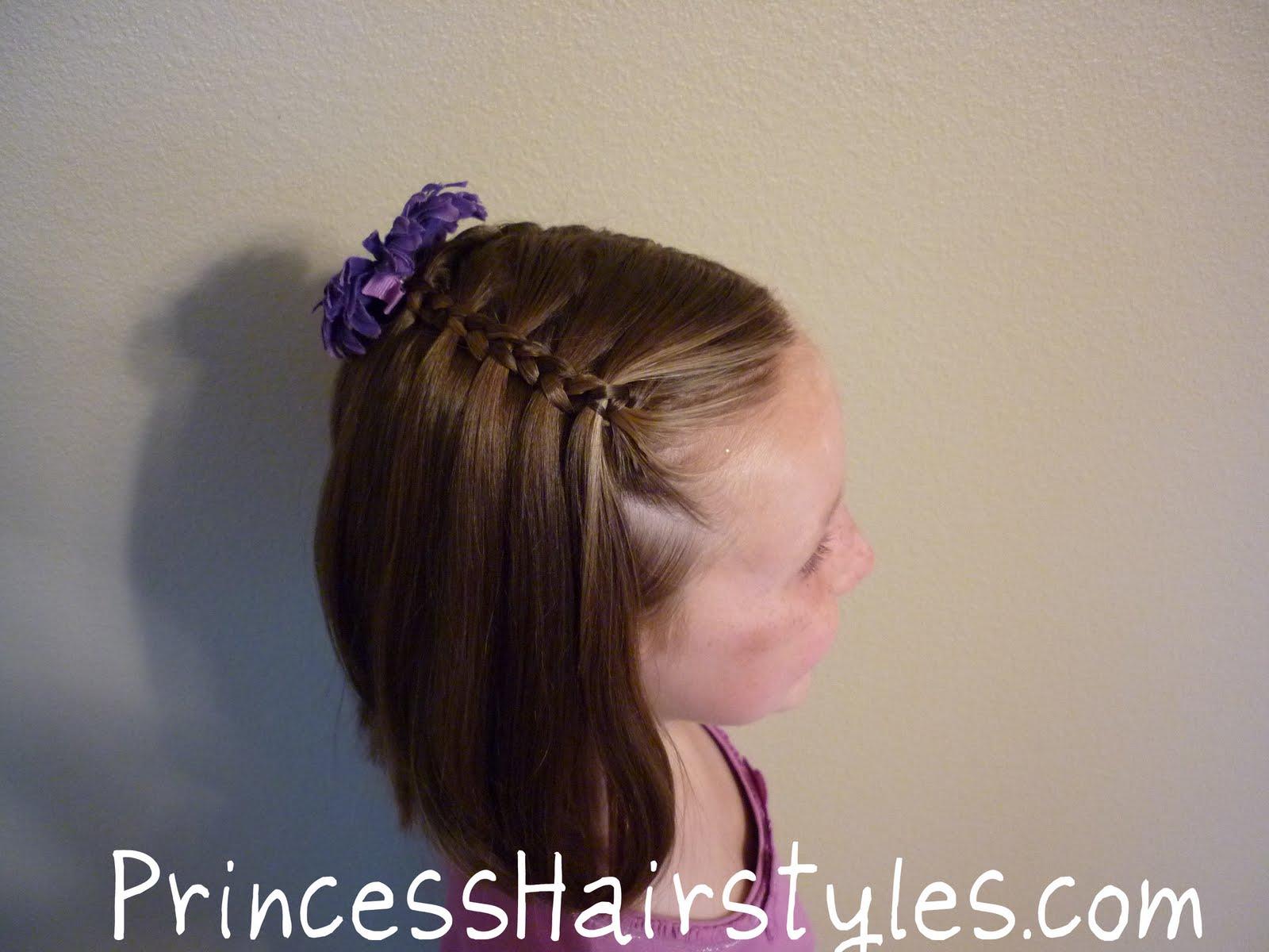 Awesome No French Braidquot Waterfall Braid Hairstyles For Girls Short Hairstyles Gunalazisus