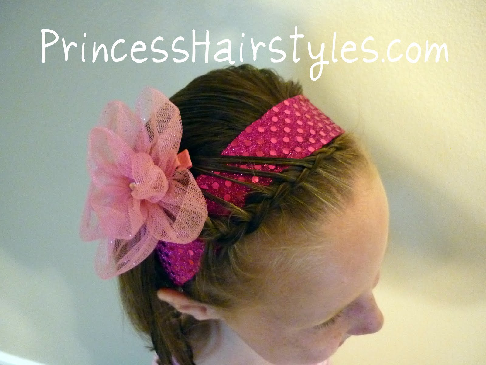Simple And Fancy Headband Hairstyles For Girls Princess