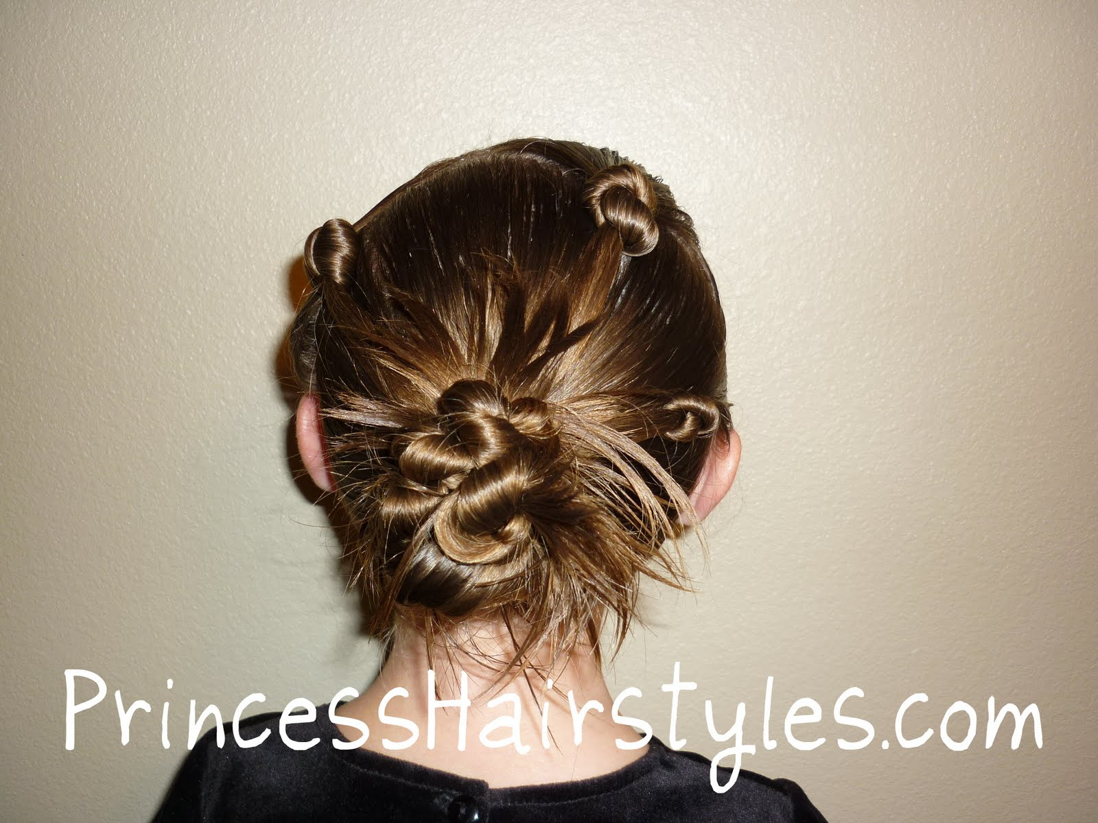 Hair Styles For A Dance: Hairstyles For Girls - Princess