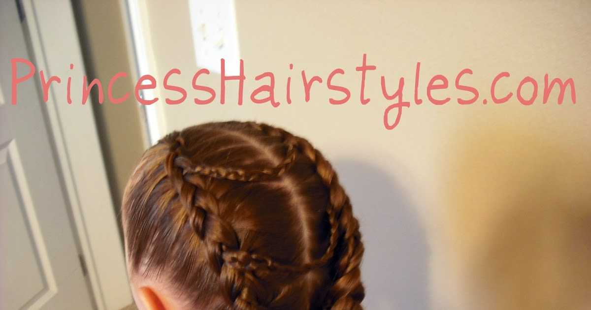 Hairstyles For Girls Princess Hairstyles Fancy Princess Braids