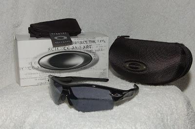 b1e22938a98cb Oakley Metallic Black radar Path Straight Stem with Black Iridium Lens.